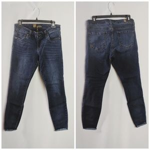 Kut from the Kloth Jeans - Kut From the Kloth Connie Ankle Stretch Raw Hem 6